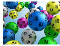 On-line contests & promotions: image of lottery balls